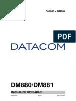 204-0104-03 DM880 e DM881 - Manual de Operação