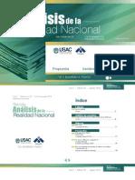 Revista Análisis de la Realidad Nacional No. 33