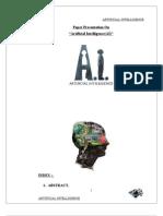 ArtificialIntelligenceAI