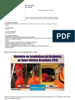 Curso de Estatística de Acidentes no Setor Elétrico Brasileiro