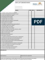 76936600 Caminhao Munck Check List
