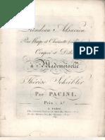 Giovanni Pacini - Rondeau Alsacien
