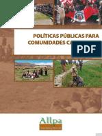 Politicas Publicas Para Comunidades Campesinas 2011-2012