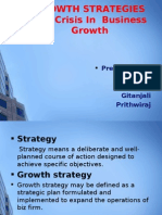 GROWTH Strategies and Crisis of Business Growth