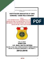 A - PEI. 2012 - 2016 Doc Para El Concurso 2012
