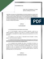 Resolução SUDECO 01-11