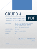 Entorno Al Hombre - Grupo IV - Unamba - Eapiis - 2013 i