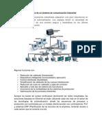 Funciones de un sistema de comunicación industrial