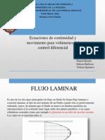 Mecanica Fluidos - (Expo. Ecuac.continuidad)