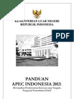 Buku Panduan Apec 2013