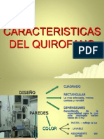 Caracteristicas Del Quirofano