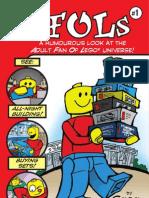 AFOLs Comic  (Adult Fans of LEGO)