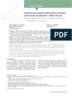 9. PLEVA Variante Ulceronecrotica y Mucosas. Brasil 2009