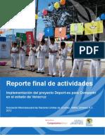Mexico - Deport Es Compartir - Veracruz
