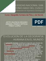 Geografia Humana- Evolucion Del Hombre en El Mundo