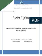 Practical Realization of CNC Machine - Ernest Culaj