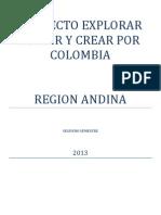 Proyecto Explorar Sentir y Crear Por Colombia