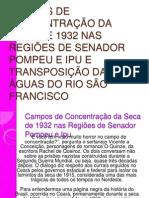 CAMPOS DE CONCENTRAÇÃO DA SECA DE 1932 NAS