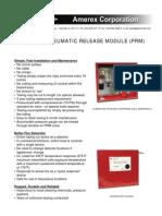 PRM Cut Sheet