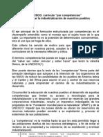 Unesco-currículo por competencias