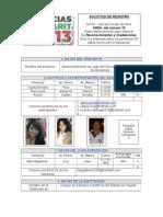 Formato de Registro.