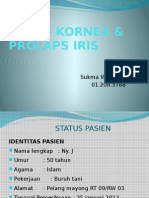 Ulkus Kornea & Prolaps Iris