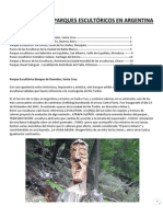 Parques Escultóricos en argentina