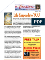 Divine Creators Newsletter - August 2013