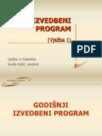 Izvedbeni Program