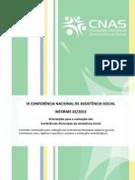 Informe 3 - IX Conferência Nacional_LTLP
