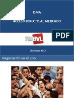 Adm Acceso Directo Al Mercado Bvl - Francisco Palacio