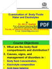 Water and electrolyte homeostasis for Vet. students