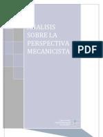 Analisis Sobre La Perspectiva Mecanicista (Reparado)