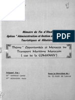 Opportunité et Menaces du transport Maritime Marocain (cas de la Comanav).pdf