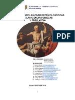 Ensayo ssobre corrientes filosóficas de las Ciencias Griegas y Edad Media 2