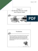 Auditing Ch 13 Keseluruhan Rencana Audit Program Audit