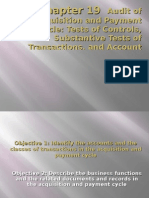 Chapter 19 Audit of Acquisition and Payment Cycle