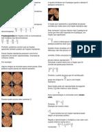Observando os numeradores e os denominadores de uma fração