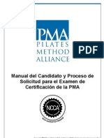 Manual y Solicitud Para El Examen de Certificacion FINAL