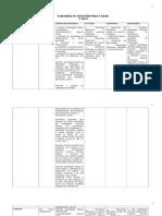 Plan Anual Educacion Fisica y Salud