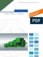 WEG w22 Motor Trifasico Tecnico Mercado Brasil 50023622 Catalogo Portugues Br