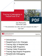 Tracing & Debugging in People Tools 8.4x CMS411