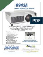 Dukane 8943A Projector