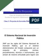 Tema 5 - Proyectos Inversion Publica