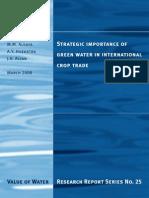 Report 25-Green Water International Trade
