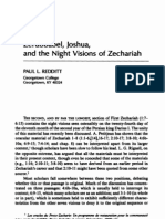 Zerubbabel, Joshua, And the Night Visions of Zechariah by Paul L. Reddit