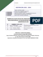 Actualizacion Del Pdc Hualhuas 2011
