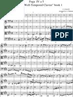 Fuga IV Score