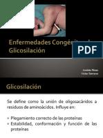 Enfermedades Congénitas de Glicosilación