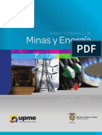 Boletin Estad Minas Energy 2007 2011